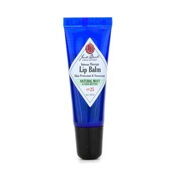 Jack Black Intense Therapy Bálsamo Labial SPF 25 Con Menta Natural y Manteca Shea