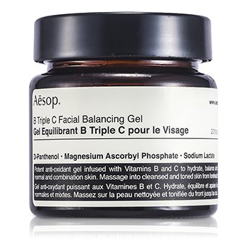 Aesop B Triple C Gel Facial Balance