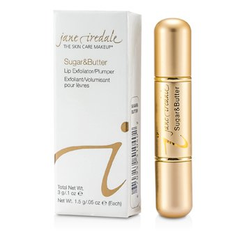 Jane Iredale Sugar & Butte Exfoliante Labial/ Reafirmante - Sugar & Butter