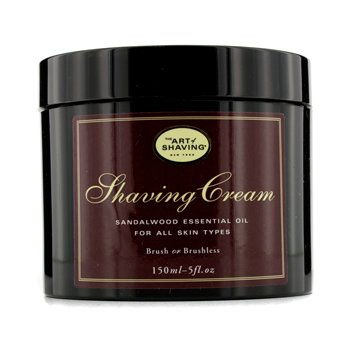 The Art Of Shaving Crema Afeitado - Sandalwood Essential Oil
