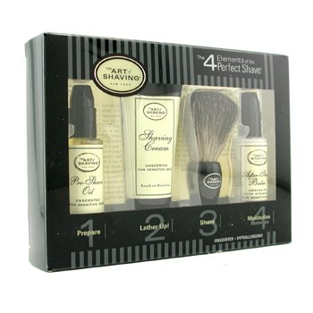 The Art Of Shaving Starter Kit - Inoloro: Aceite Pre-Afeitado + Crema Afeitado + Brocha + Bálsamo After Shave