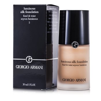 Giorgio Armani Luminous Silk Base Maquillaje - # 5 (Warm Beige)