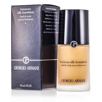Giorgio Armani Luminous Silk Base de Maquillaje - # 6 (Golden Beige)