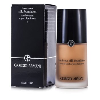 Giorgio Armani Luminous Silk Base de Maquillaje - # 7 Tan