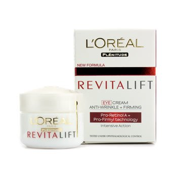 loreal plenitude L'oréal eye defense reduces puffiness, fine lines and dark circles.