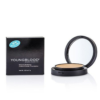 Youngblood Mineral Radiance Base de Maquillaje Polvos Crema - # Honey