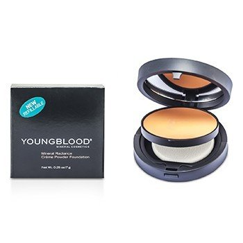 Youngblood Mineral Radiance Base de Maquillaje Crema Polvos - # Rose Beige