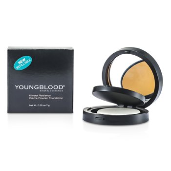 Youngblood Mineral Radiance Base de Maquillaje Crema Polvos - # Toffee