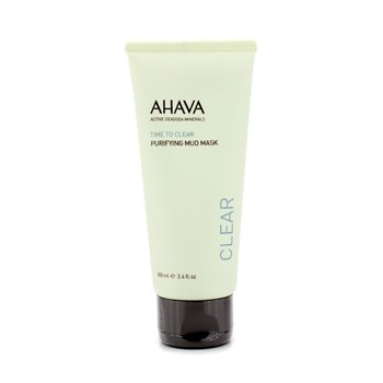 Ahava Time To Clear Máscara de lodo purificante