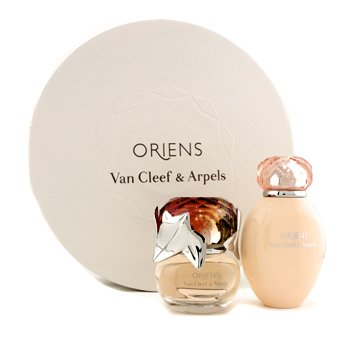 Van Cleef & Arpels Oriens Coffret: Eau De Parfum Spray 50ml + Loción Corporal 150ml (Round Box)
