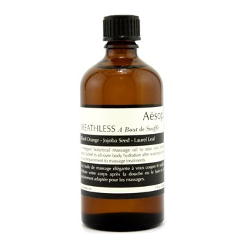 Aesop Breathless Botanical Aceite Masaje