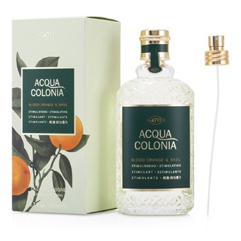 4711 Acqua Colonia Blood Orange & Basil Eau De Cologne Vaporizador
