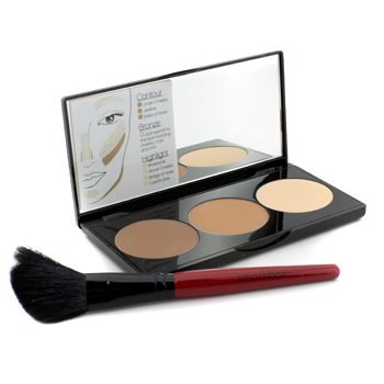 Smashbox Set Contorno Step By Step (1 x Paleta Contorno + 1 x Brocha Contorno) - (Light/Medium)