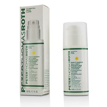 Peter Thomas Roth Max Sheer Hidrata todo el dia Defense Lotion SPF 30