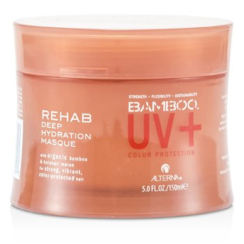 Alterna Bamboo UV+ Color Protection Rehab Deep Hydration Masque (For Strong, Vibrant, Color Protected Hair)