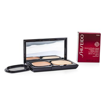 f2cd79740 Shiseido Advanced Hydro Liquid Base Maquillaje Compacta SPF15 (Estuche +  Recambio) - WB60 Natural