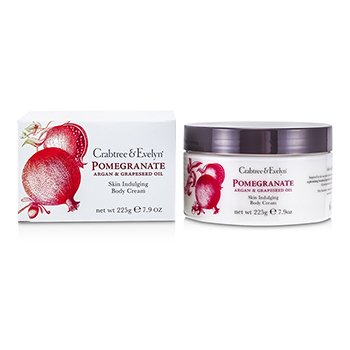 Crabtree & Evelyn Pomegranate, Argan & Grapeseed Crema Corporal
