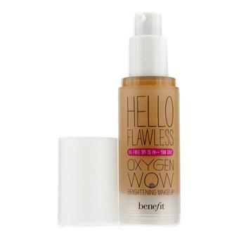 Benefit Hello Flawless Oxygen Wow Maquillaje Iluminador SPF 25 (Oil Free) - # Im All The Rage (Beige)