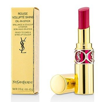 Yves Saint Laurent Rouge Volupte Brillo de Labios - # 5 Fuchsia In Excess/ Fuchsia Chiffon