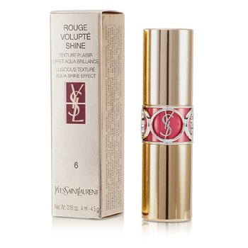 Yves Saint Laurent Rouge Volupte Brillo de Labios - # 6 Pink In Devotion/ Pink Safari