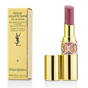 Yves Saint Laurent Rouge Volupte Brillo de Labios - # 8 Pink In Confidence/ Pink Blouson