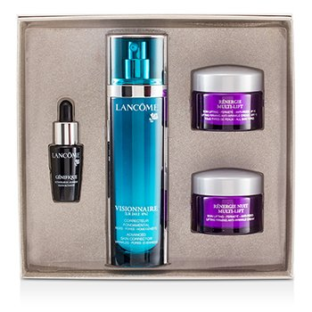 Lancome Set  Visionnaire: Visionnaire [LR2412] 50ml + Renergie Multi-Lift 15ml + Genifique 7ml + Renergie Yeu