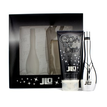 J. Lo Glow After Dark Coffret: Eau De Toilette Spray 50ml + Night Bright Crema Corporal 200ml