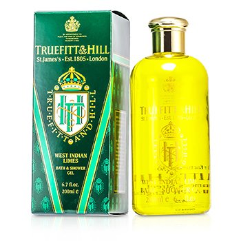 Truefitt & Hill West Indian Limes Gel de Baño y Ducha