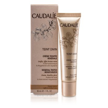 Caudalie Teint Divin Hidratante Mineral con Color - Light to Medium Skin
