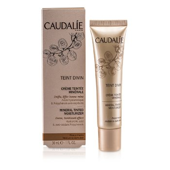 Caudalie Teint Divin Hidratante Mineral con Color - Medium to Dark Skin