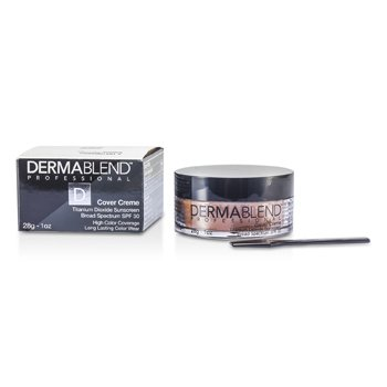 Dermablend Base en Crema Espectro Amplio SPF 30 (Alta Cobertura de Color) - Toasted Brown
