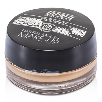 Lavera Natural Mousse Base de Maquillaje en Crema - # 03 Honey