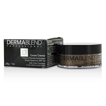 Dermablend Base en Crema Espectro Amplio SPF 30 (Alta Cobertura de Color) - Cafe Brown