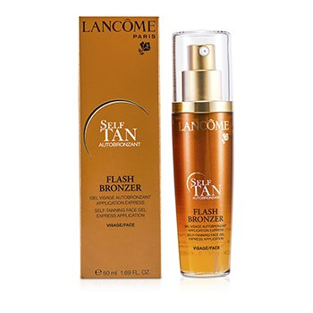 Lancome Flash Bronzer Gel Facial Auto Bronceador