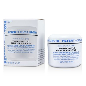 Peter Thomas Roth Therapeutic Sulfur Mascarilla - Tratamiento Acne