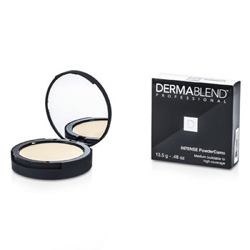 Dermablend Intense Powder Camo Base Compacta (Cobertura Media Edificable a Alta) - # Ivory