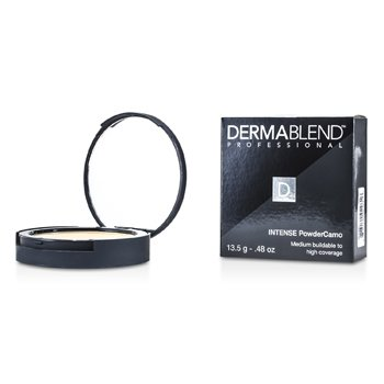 Dermablend Intense Powder Camo Base Compacta (Cobertura Media Edificable a Alta) - # Natural