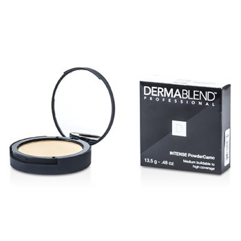 Dermablend Intense Powder Camo Base Compacta (Cobertura Media Edificable a Alta) - # Sand