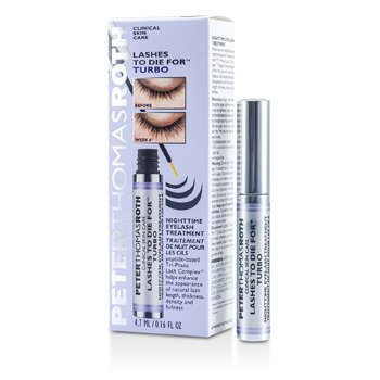 Peter Thomas Roth Lashes To Die For Turbo Tratamiento de Pestañas Para la Noche