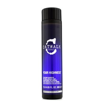 Tigi Catwalk Your Highness Elevating Champú - Para Cabello Fino, Sin Vida (Nuevo Empaque)