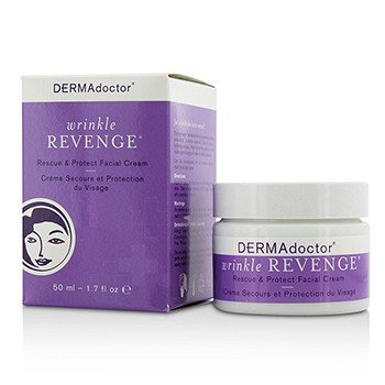 DERMAdoctor Wrinkle Revenge Rescue & Protect Crema Facial