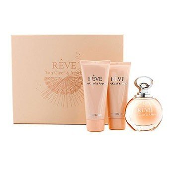 Van Cleef & Arpels Reve Coffret: Eau De Parfum Spray 100ml + Loción Corporal 100ml + Gel de Ducha 100ml