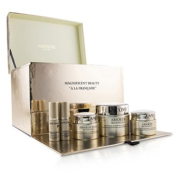 Lancome Absolue Precious Cells Coffret: Absolue SPF 15 50ml & 15ml + Cuidado Noche 15ml + Concentrado de Ojos 5ml + Oleo-Suero 5ml