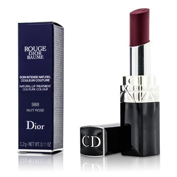 Christian Dior Rouge Dior Baume Tratamiento de Labios Natural Color Couture - # 988 Nuit Rose