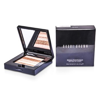 Bobbi Brown Shimmer Brick Compacto color Teja - # Pink Quartz