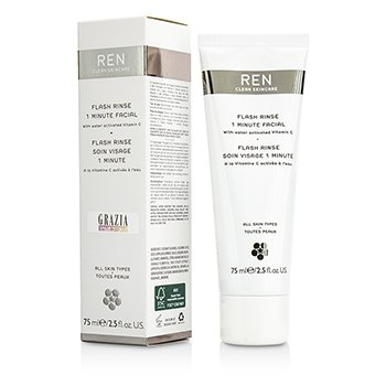 Ren Flash Rinse Facial de 1 Minuto