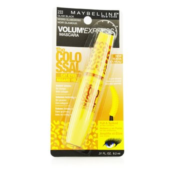 Maybelline Volum Express The Colossal Cat Eye Máscara Lavable - #Glam Black