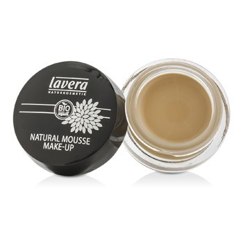 Lavera Natural Mousse Make Up Crema Base - # 01 Ivory