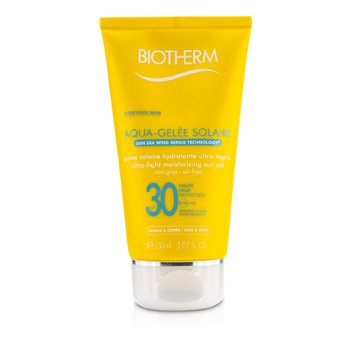 Biotherm Gel Solar Humectante Ultra Ligero SPF30 (Aquagelee)