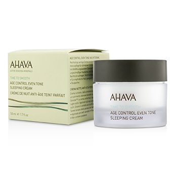 Ahava Time To Smooth Age Control Even Tone Sleeping Cream
